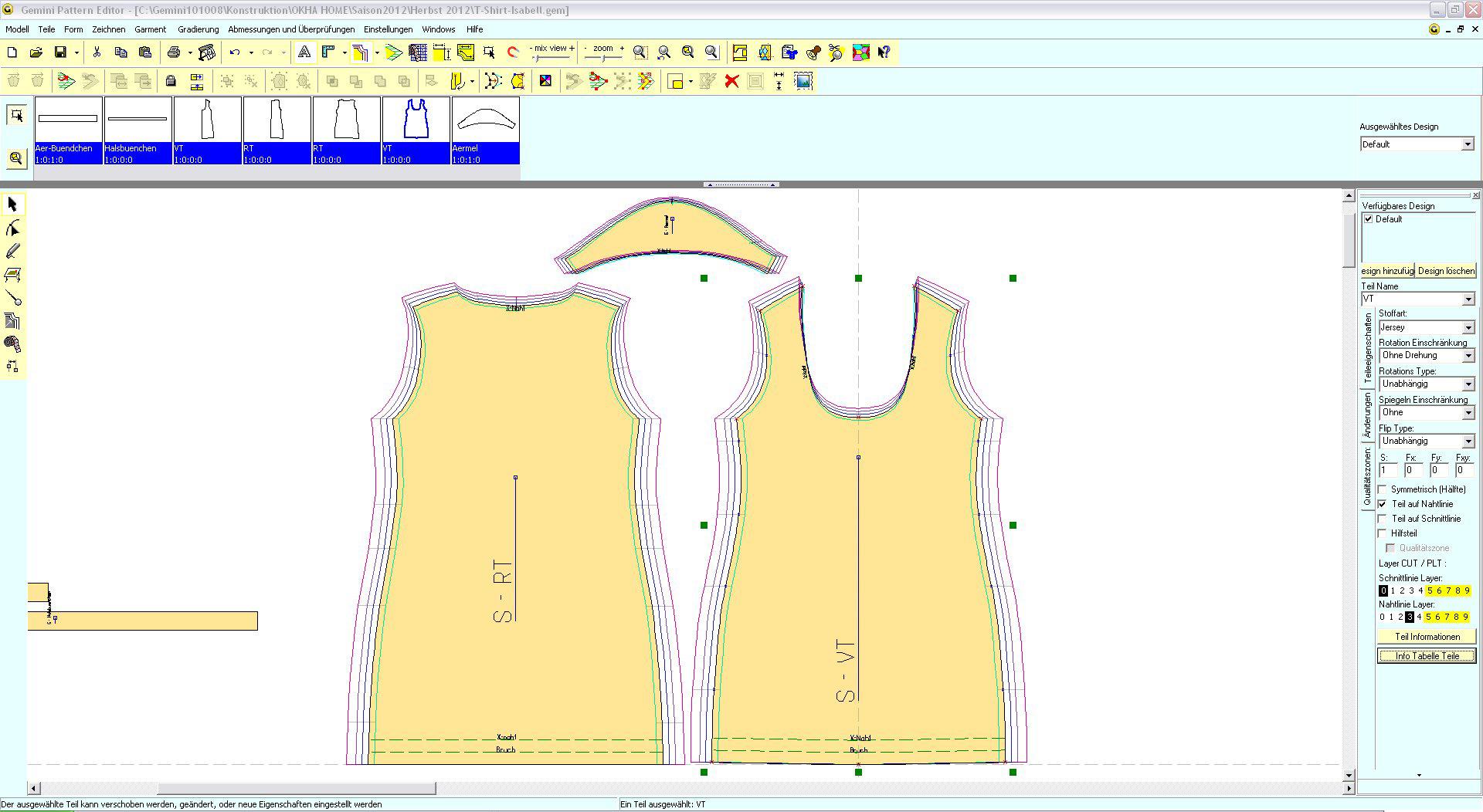 Apparel - CAD-Software.